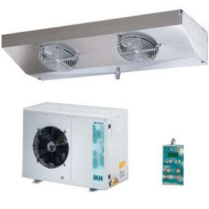 Сплит-система холодильная, д/камер до  17.60м3, -5/+5С, малошумная, крепление на угл.кронштейны, прессостат, маслоотделитель