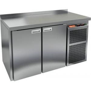 Стол холодильный, GN1/1, L1.51м, борт H50мм, 2 двери глухие, ножки низкие, -2/+10С, нерж.сталь, дин.охл., агрегат справа, увелич.объем