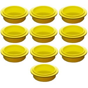 Крышка для стакана для гомогенизатора Pacojet, желтая, комплект 10шт.