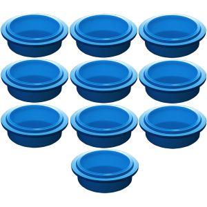Крышка для стакана для гомогенизатора Pacojet, синяя, комплект 10шт.