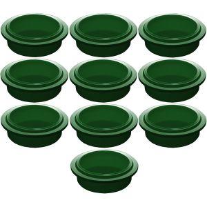 Крышка для стакана для гомогенизатора Pacojet, зеленая, комплект 10шт.