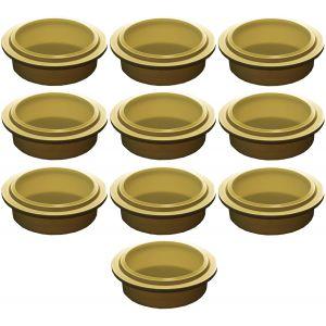 Крышка для стакана для гомогенизатора Pacojet, золотая, комплект 10шт.