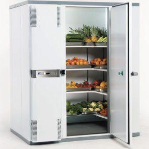 Камера холодильная замковая,   4.50м3, h2.40м, 1 дверь расп.правая, ППУ80мм, левый моноблок (-2/+5С)