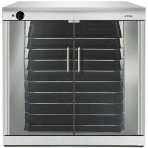 Шкаф расстоечный для печей ALFA142-143-144, 10x(600х400мм), 2 двери стекло, +40/+45С, нерж.сталь, 220V, ножки, электромех.упр., увлаж.