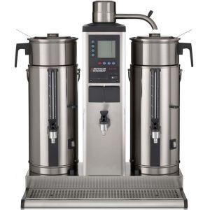 Кофеварка настольная с подключением к воде, 2 контейнера по  5л, 30л/ч, бойлер для кипятка 3.0л