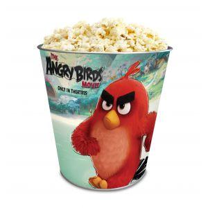 Жестяное ведро для попкорна «Angry Birds в кино», 130 унций/3.80л.