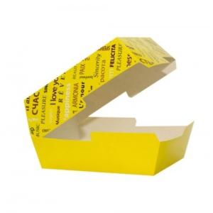 Коробка для гамбургера 118x117x71мм Fiesta бумага