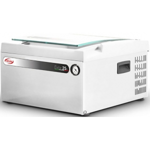 Машина для вакуумной упаковки, настольная, 1 камера 303х293х110мм, электронное управление, 1 шов 260мм, насос 8м3/ч, нерж.сталь