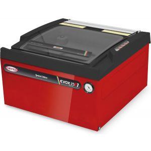 Машина для вакуумной упаковки, настольная, 1 камера 303х293х110мм, электронное управление, 1 шов 260мм, насос 8м3/ч, красная