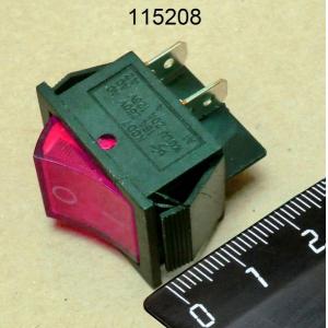 Выключатель 12А 220-230В для вафельниц IFY-6
