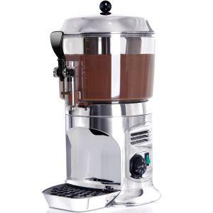 Аппарат для горячего шоколада настольный, ванна 5л пластик, корпус «серебро»