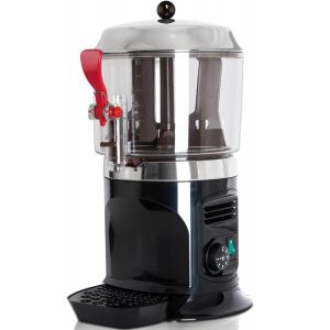 Аппарат для горячего шоколада настольный, ванна 5л пластик, корпус черный