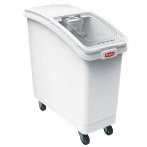 Контейнер для сыпучих продуктов L 74,3см w 33,4см h 75см 80л, пластик белый