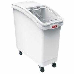 Контейнер для сыпучих продуктов L 74,3см w 45,7см h 75см 120л, пластик белый