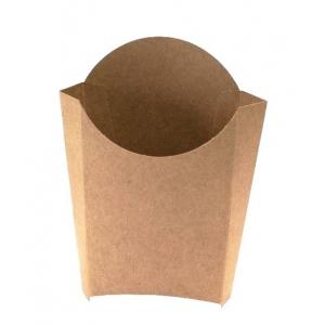 Коробка для картофеля фри 68x32x100мм Крафт бумага