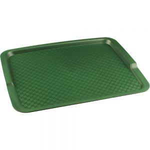 Поднос L 42,5см w 32см прямоугольный, полипропилен зеленый