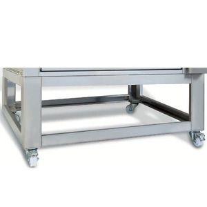 Подставка для печи для хлеба подовой T Polis 6, 1660х1470х400мм, открытая, обвязка с 4-х сторон, нерж.сталь, передвижная, 4 модуля
