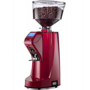 Кофемолка-автомат, бункер 1.6 кг, 9кг/ч, красная, диаметр жернова 75мм