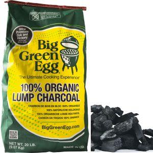 Уголь древесный органический крупнокусковой, пакет 9кг
