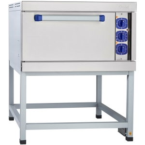Шкаф электрический жарочный, 1 камера, 4х(530х470мм), электромех.управление, корпус (лицевая часть) нерж.сталь, 220V, стенд открытый