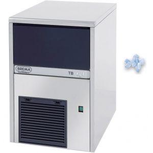 Льдогенератор для крупногранулированного льда,   55кг/сут, бункер 10.0кг, возд.охлаждение, корпус нерж.сталь