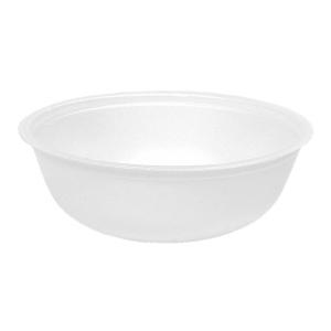 Контейнер для супа 370мл вспененный полистирол белый