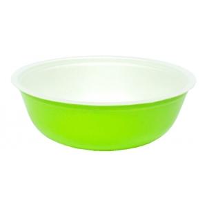 Контейнер для супа 370мл вспененный полистирол зеленый