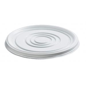 Крышка для супового контейнера 370-500мл полистирол белый