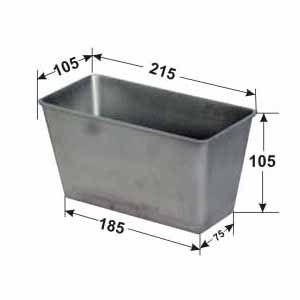 Форма для выпечки хлеба L 21.5см h 10.5см w 10.5см, без ручек