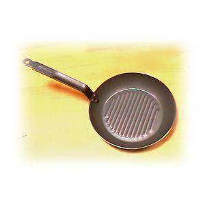 Сковорода D 30см ГРИЛЬ CARBONE PLUS (б/у (бывший в употреблении))