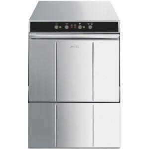 Машина посудомоечная фронтальная, 500х500мм, 40-24кор/ч, доз.опол.+моющ., 2 цикла, 380/220В, эл.-мех.упр., умягчитель