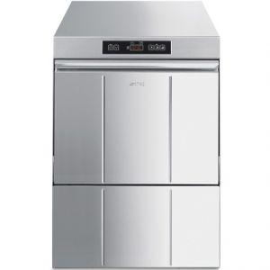 Машина посудомоечная фронтальная, 500х500мм, 40-24-15кор/ч, доз.опол.+моющ., 3 цикла, электр.упр., 380/220В, насос ополаскивания, водоумягчитель