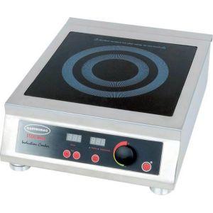 Плита индукционная, 1 конфорка 1х3.5кВт, настольная, 15 уровней мощности