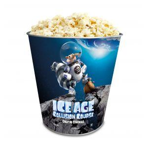 Жестяное ведро для попкорна «Ледниковый период: Столкновение неизбежно», 130 унций/3.80л.