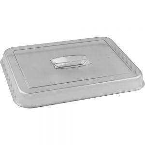 Крышка для салатника L 26см, W 17,5см, пластик, прозрачная
