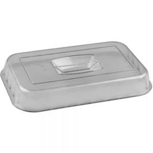 Крышка для салатника L 33см, W 26,5см, пластик, прозрачная