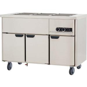 Мармит электрический для вторых блюд, L1.26м, без борта, 3GN1/1, нагрев паровой, шкаф тепловой, нерж.сталь, ролики