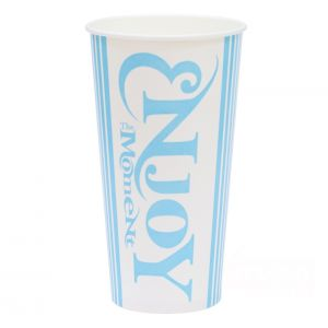 Стакан бумажный для холодных напитков Enjoy 500мл