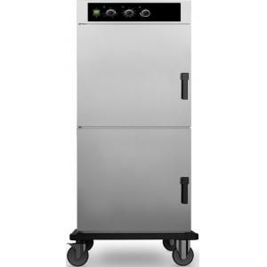 Шкаф тепловой-регенератор, 2х8GN1/1, 2 двери распашные глухие, +30/+90С и +30/+160С, нерж.сталь, 3820V, колеса, электромех.упр., увлажнение