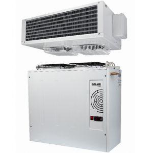 Сплит-система морозильная, д/камер до   7.20м3, -15/-20С, крепление вертикальное, пульт ДУ