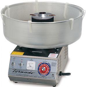 Аппарат сахарной ваты, 7kg/h., алюм. ловитель, спираль, нерж.сталь