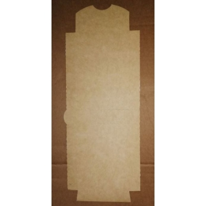 Коробка для ролла 200х80х54мм Крафт бумага