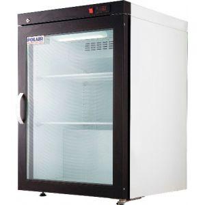 Шкаф холодильный для икры,  150л, 1 дверь стекло, 2 полки, ножки, -8/0С, дин.охл., белый, агрегат нижний
