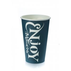 Стакан бумажный для горячих напитков ENJOY THE MOMENT 400мл