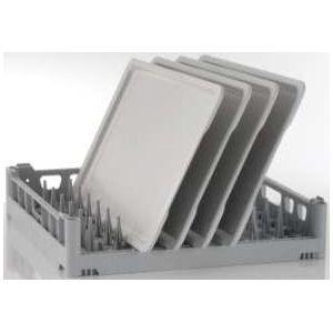 Корзина посудомоечная для противней и подносов для машин посудомоечных UC-M, UC-L, UC-XL, PT, STR, MT, 500х500мм (размер L), 9 рядов, пластик, 1 ст.от