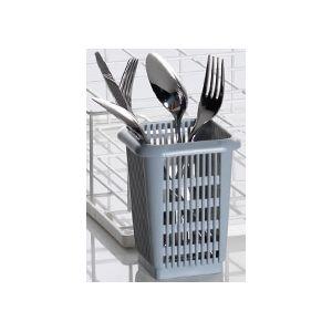 Контейнер-вставка для посудомоечных корзин 85 000 604, 85 000 040, 85 000 605, 85 000 041, для столовых приборов, 106х106х138мм, пластик