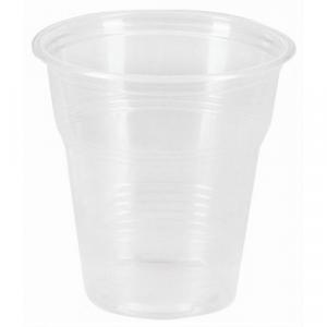 Стакан 100мл пластик прозрачный