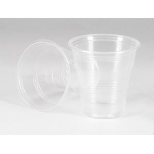 Стакан 180мл пластик прозрачный
