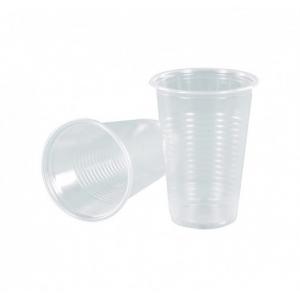 Стакан 200мл пластик прозрачный