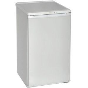 Шкаф комбинированный бытовой, 115л, 1 дверь глухая, 2 полки, +4/-12С, белый, верхняя морозилка, R600а, класс А
